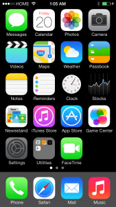 001-home-screen-setting-hilighted