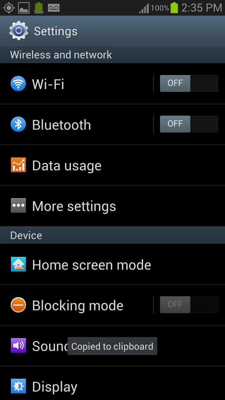 Straight Talk Android MMS Settings