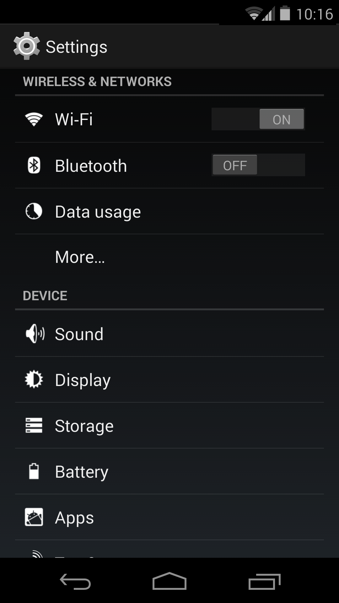 how to turn off proxy on android