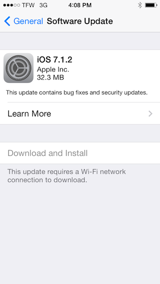 how to update carrier settings iphone 5 straight talk