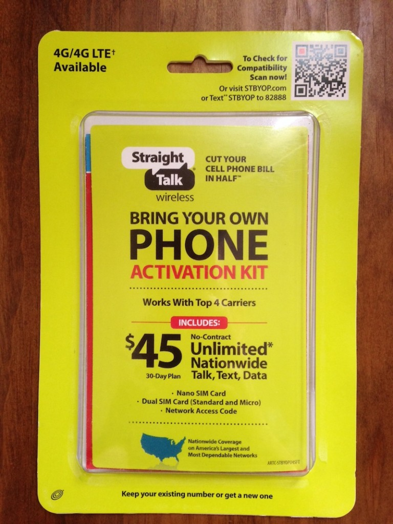 Can you hook up a verizon iphone to straight talk