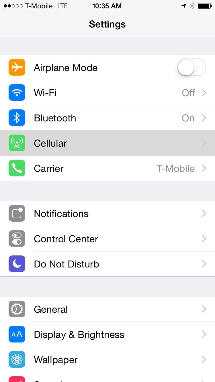 Setting up Your Metro PCS Cellular Data, Internet, MMS