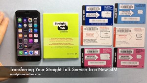 Transferring Your Straight Talk Service To a New SIM