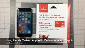 Using the My Verizon App With Verizon Wireless Prepaid