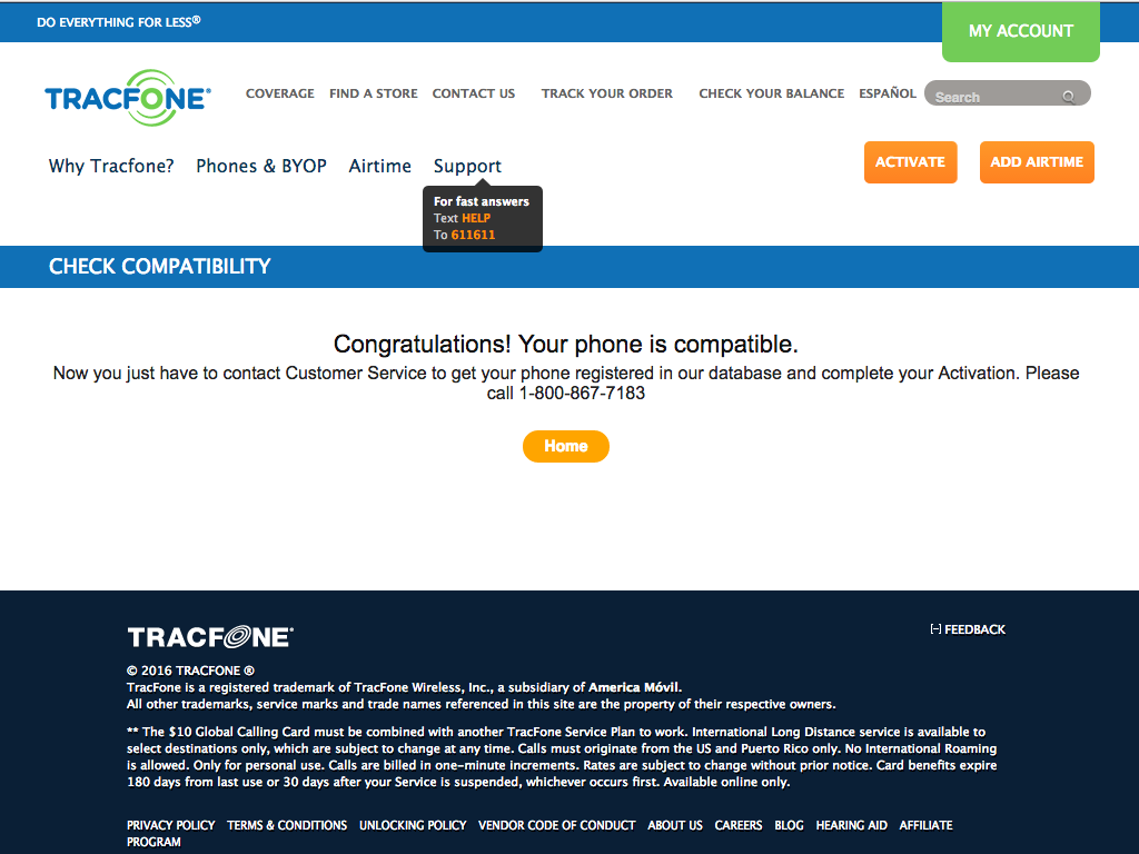 Checking If Your Smartphone Is Compatible With Tracfone's