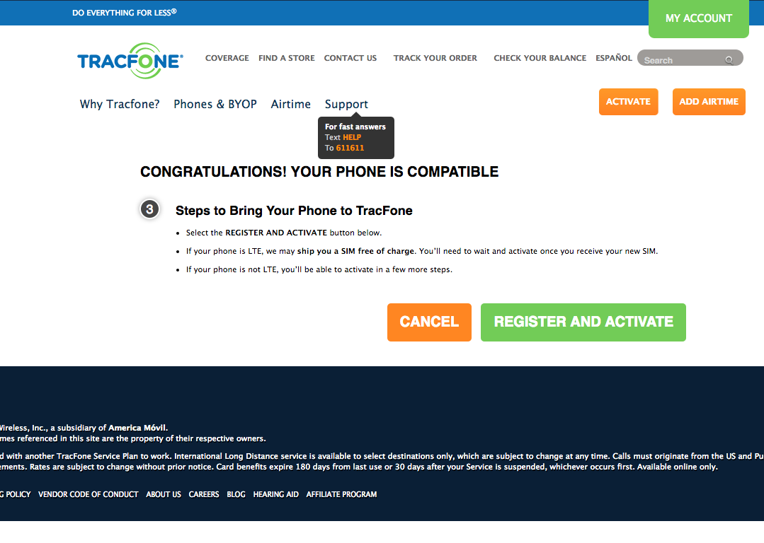 Checking If Your Smartphone Is Compatible With Tracfone's Verizon