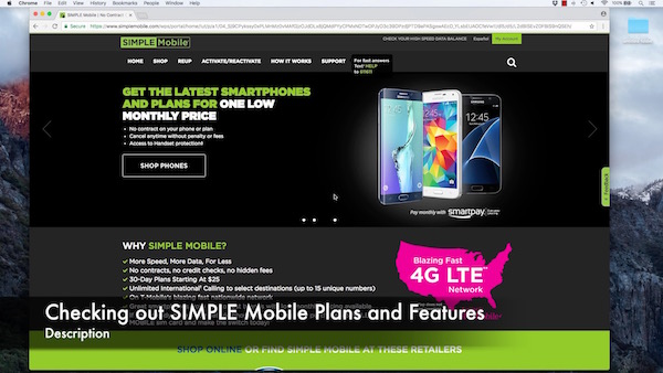 Checking out SIMPLE Mobile Plans and Features – smartphonematters